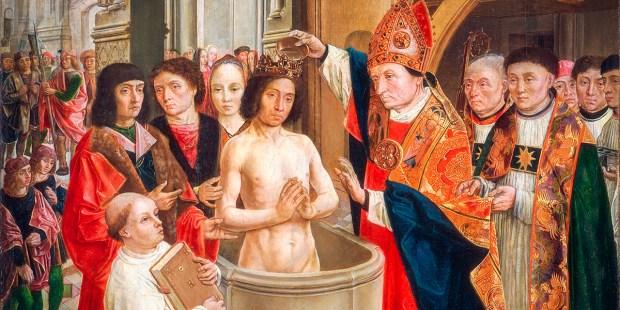 The Baptism of Clovis - Remi de Reims - Saint Remi