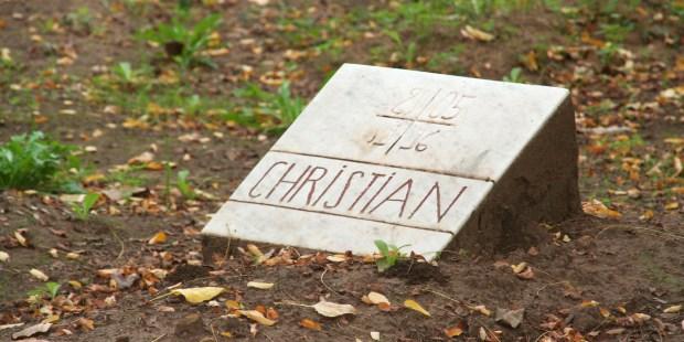 CHRISTIAN DE CHERGE TOMB