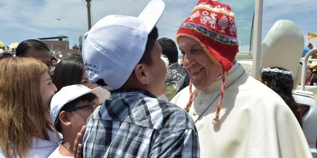 TOPSHOTS PERU POPE