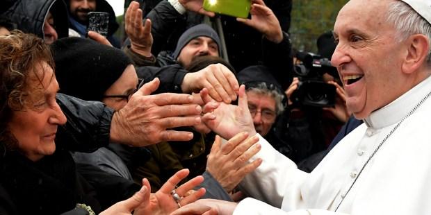 Pope Francis Ponte Mammolo