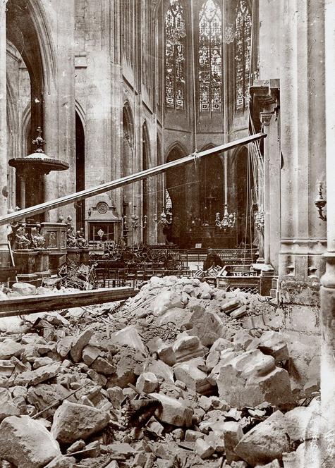 Saint Gervais paris bombardement paris 1918