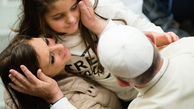 OPE FRANCIS,MOTHER,DAUGHTER