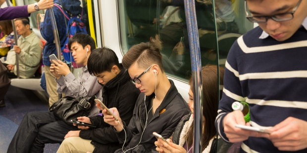 SUBWAY SMARTPHONE