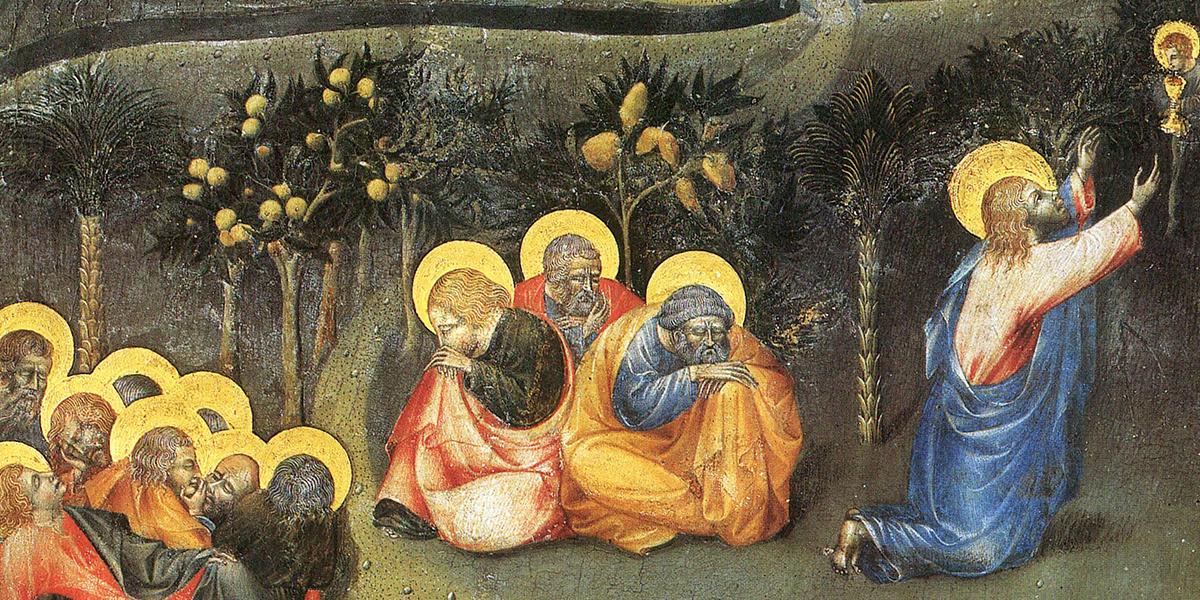 JEZUS W OGRÓJCU