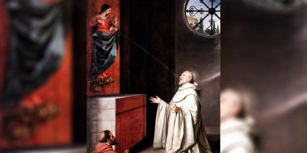 St. Bernard and the Virgin