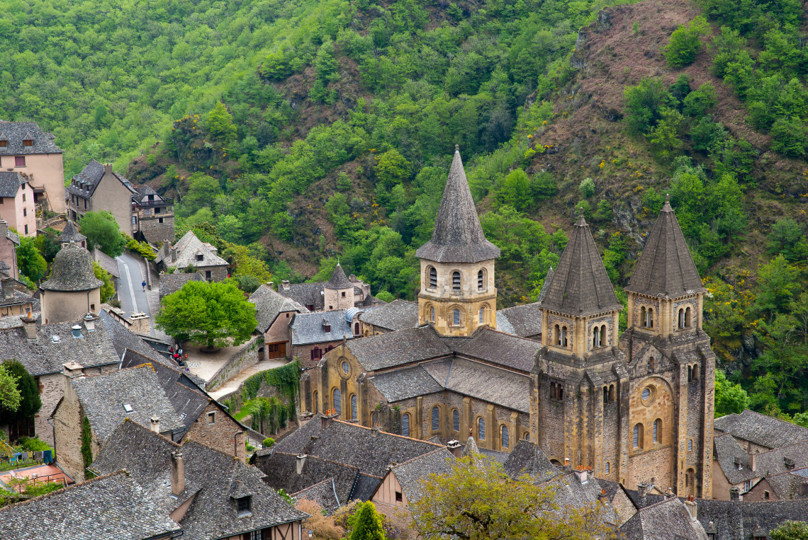 abbaye conques