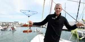 Sébastien Destremau avec la clé des océans