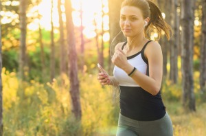 Woman Exercise Fitness Jogging