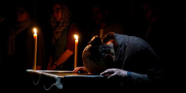 EGYPTIAN COPTIC PRAYING
