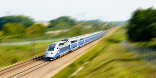HIGH-SPEED TGV DUPLEX TRAIN