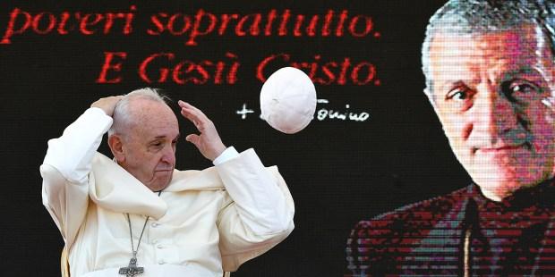 POPE FRANCIS - DON TONINO BELLO