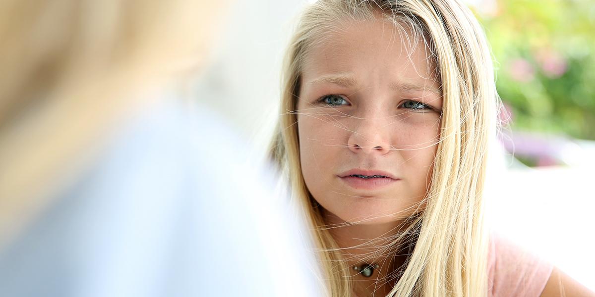 TEENAGE DAUGHTER
