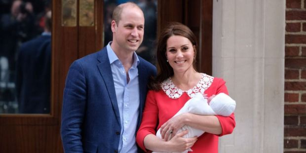 KATE, WILLIAM, BABY