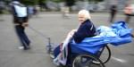 OLD WOMAN LOURDES