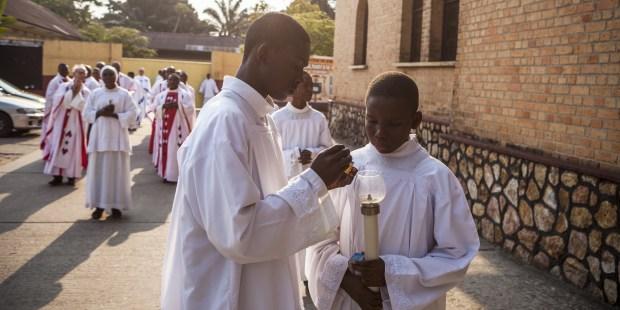 CONGO PRIESTS