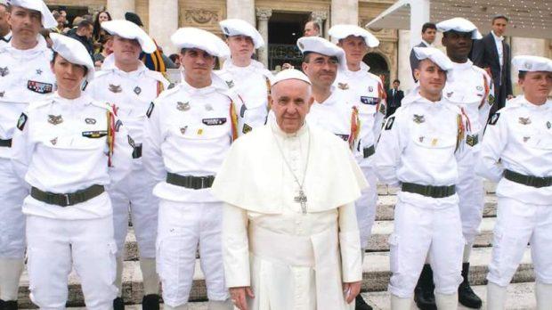 Chasseurs alpins Vatican pape François