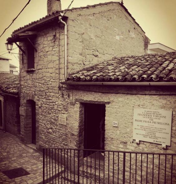 Padre Pio house