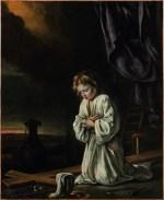 Le Christ enfant méditant sur la Crucifixion