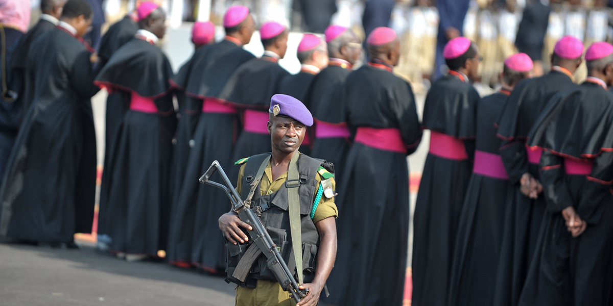 CAMEROONIAN SOLDIER PRIESTS