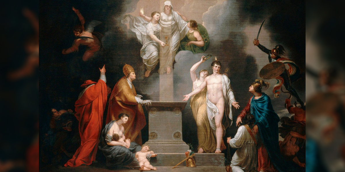 ALLEGORY OF THE CONCORDAT OF 1801