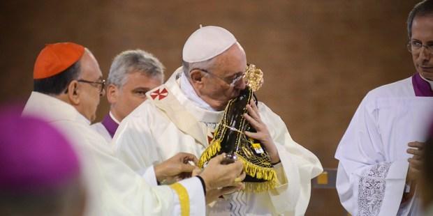 POPE FRANCIS OUR LADY OF APARECIDA