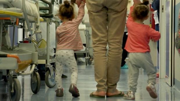 ALGERIAN SIAMESE TWINS SEPARATED BAMBINO GESÙ HOSPITAL