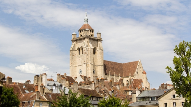 TOWN OF DOLE IN THE FRENCH JURA