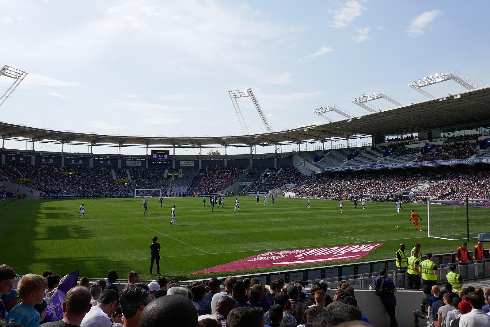 Stadium Toulouse Ligue 1 Football