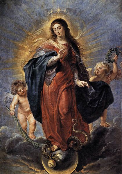 VIRGIN,MARY,IMMACULATE CONCEPTION