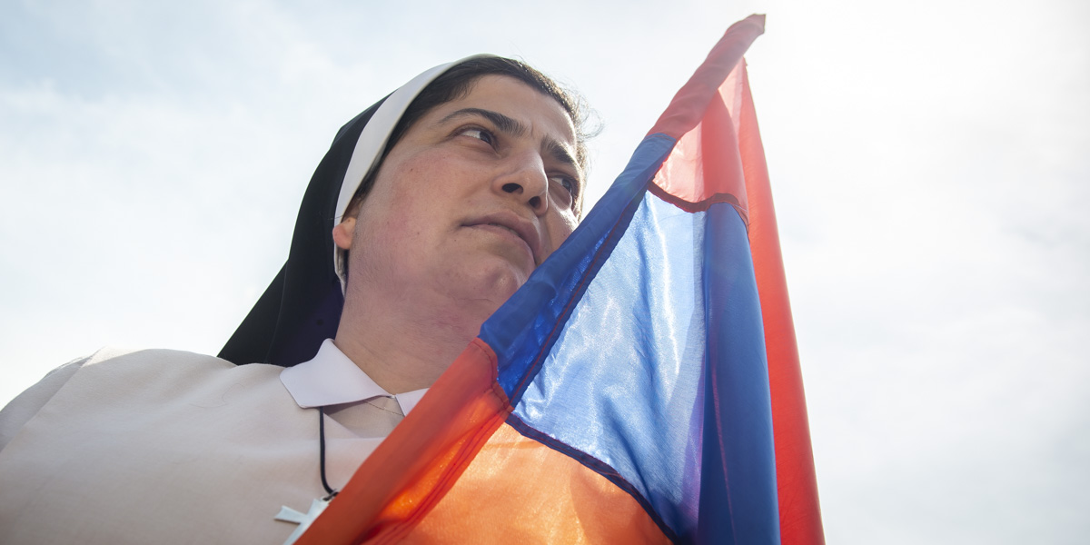 ARMENIAN CATHOLIC NUN