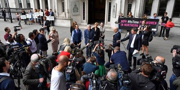 BRITAIN NIRELAND ABORTION COURT RULING