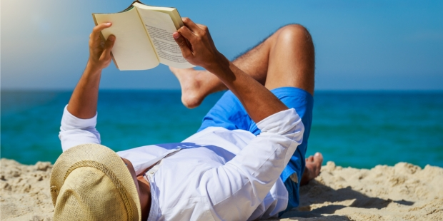 PLAGE, BEACH, BOOK, LIVRES