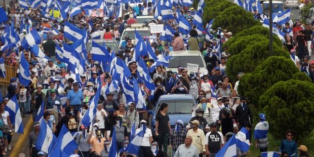NICARAGUA MARCH