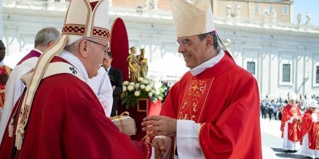 POPE FRANCIS MSGR. MICHEL AUPETIT