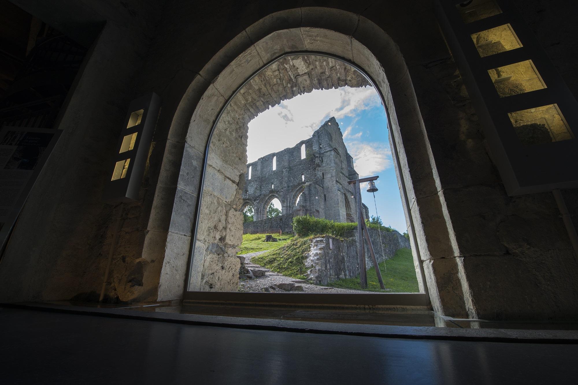 Abbaye d'Aulps.