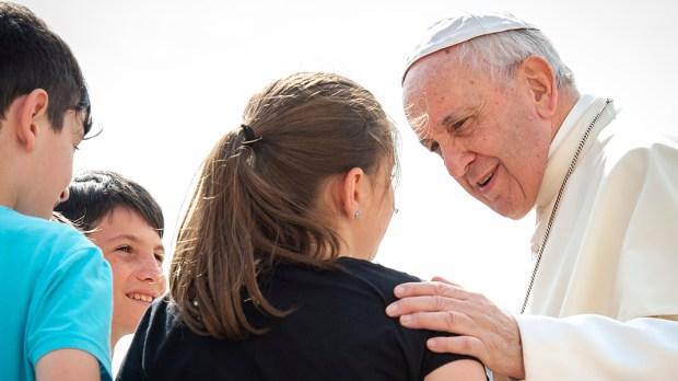 POPE FRANCIS,CHILDREN