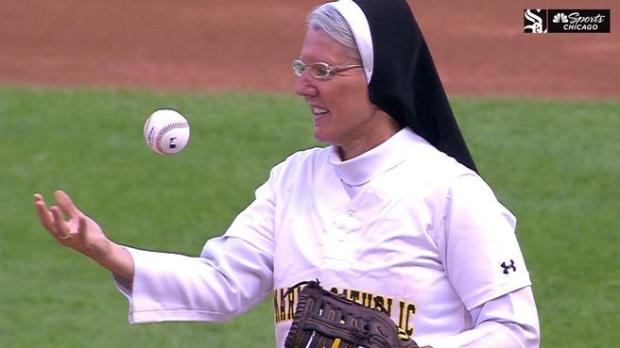 SISTER MARY JO SOBIECK,BASEBALL