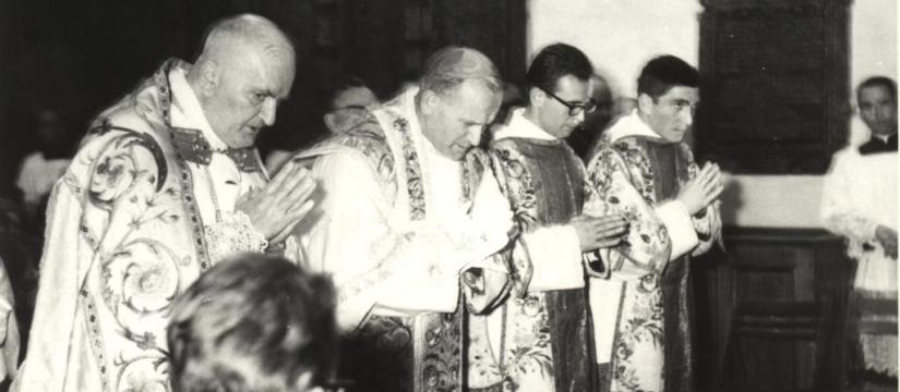 JOHN PAUL II ORDAINED PRIEST; POPE