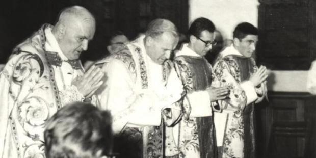 JOHN PAUL II ORDAINED PRIEST; POPE