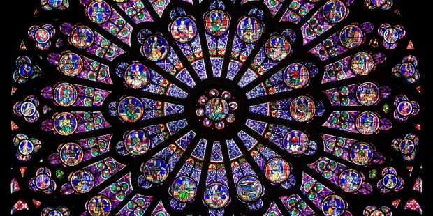 MEDIEVAL; STAINED GLASS