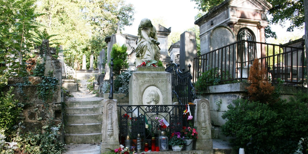 CHOPIN GRAVE