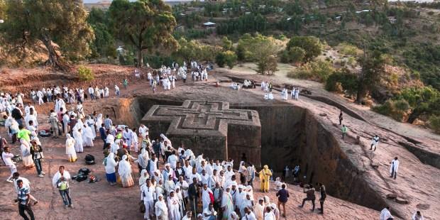 Ethiopie : les étonnantes églises de la Jérusalem noire
