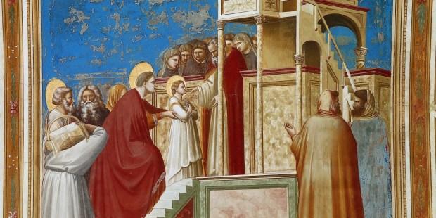 Découvrez les superbes fresques de la chapelle Scrovegni réalisée par Giotto