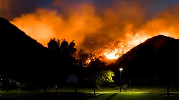 CALIFORNIA FIRE