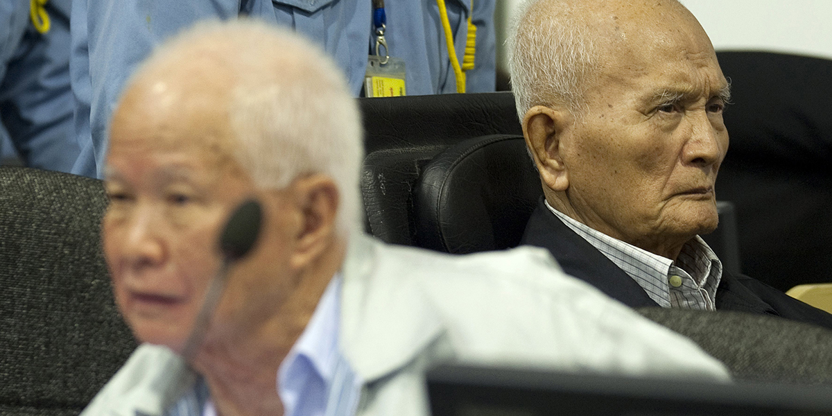 KHMER ROUGE AND NUON CHEA