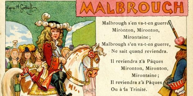 MALBOUROUGH SONG