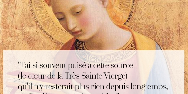 Quand les grands saints prient Marie