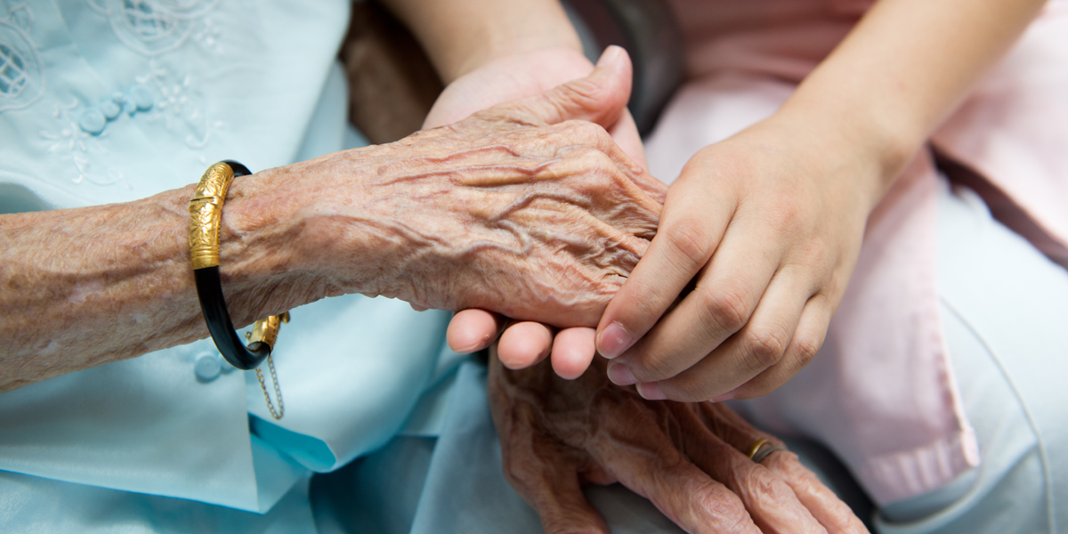 ELDERLY,HANDS