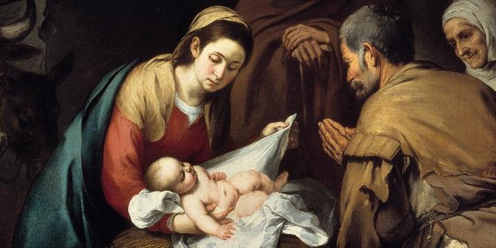 Marie et l'enfant Jésus