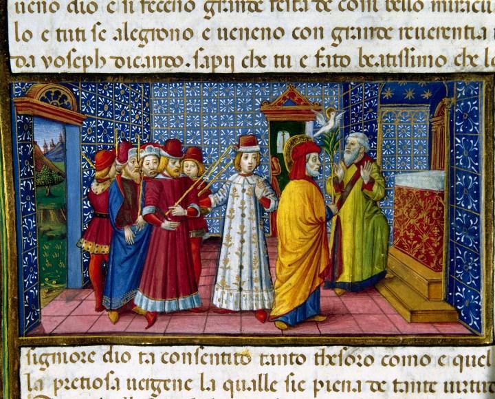 élection de saint joseph